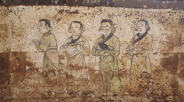 朔州发现元代壁画墓