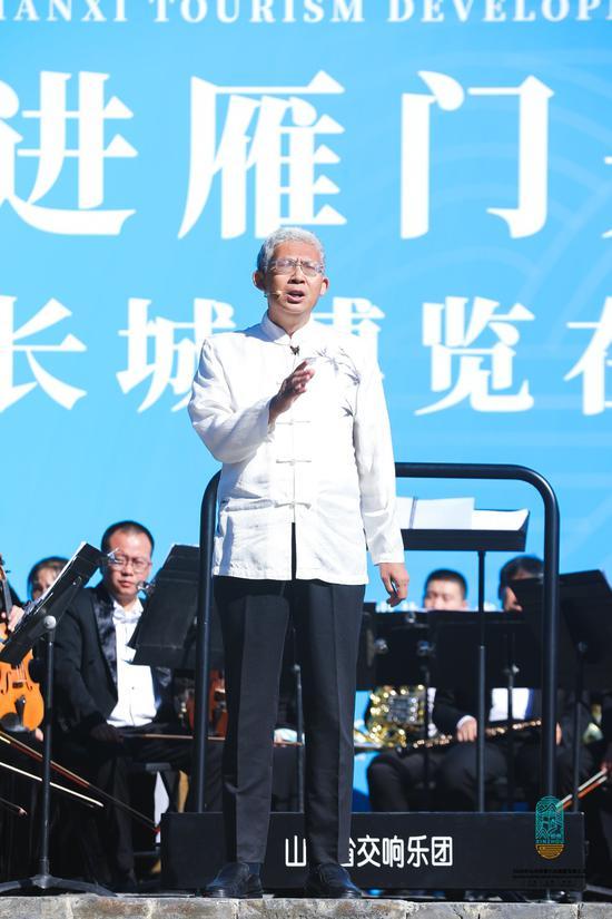 """纪连海、董耀会、王立群""""走进雁门关""""品读长城"""