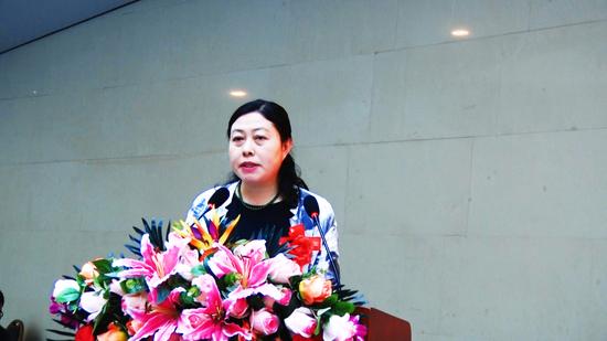 嘉宾代表:山西省美协副主席兼秘书长李桂平致辞