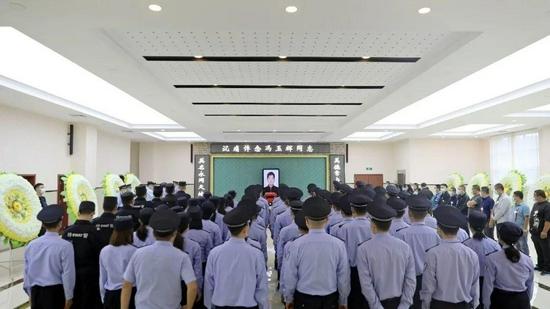 冯玉辉同志送别仪式在晋中市举行