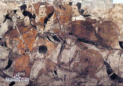 娄睿墓壁画