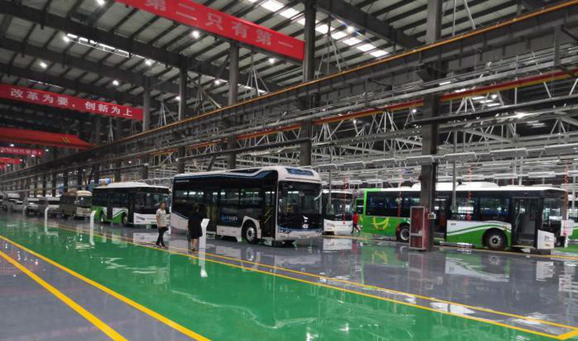 山西自主研发生产第一辆氢能源电动汽车下线