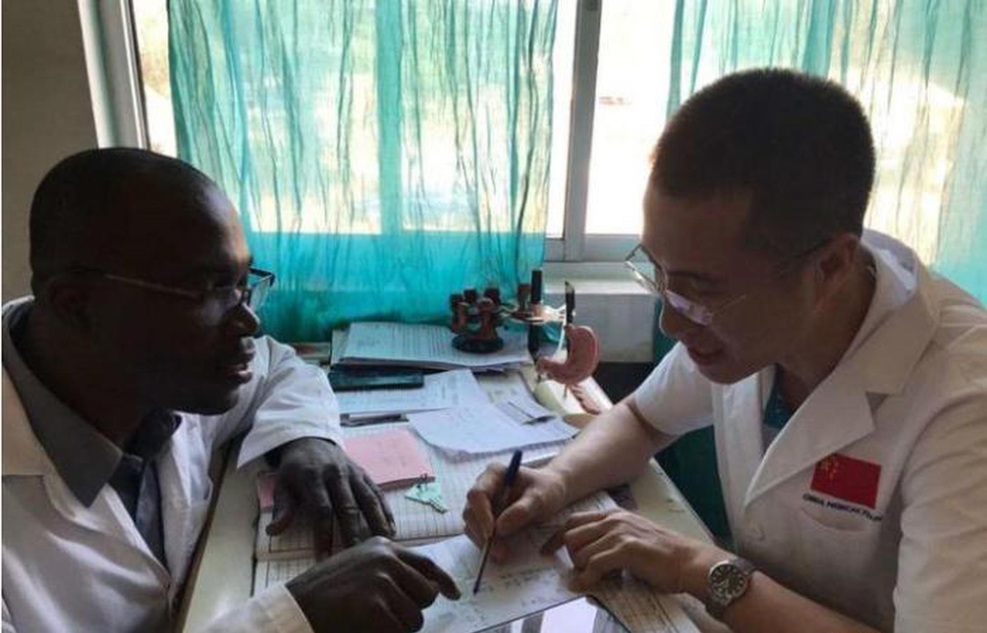山西中医在非洲:缓解病痛 缔结友谊