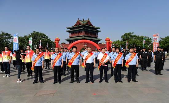 临汾举办2020年禁毒法制宣传暨全民禁毒宣传月启动仪式
