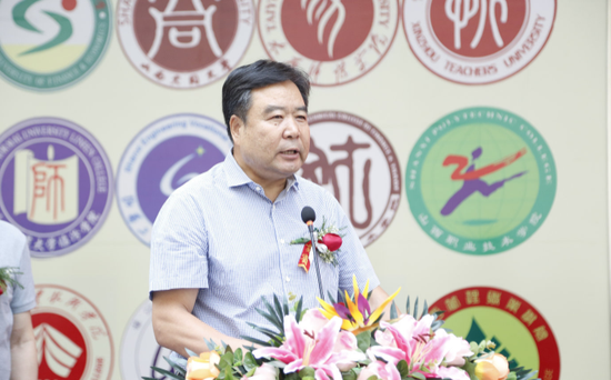 山西省文联党组书记兼主席郭健致辞