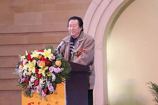 中国国家画院院长、中国美协副主席杨晓阳致辞