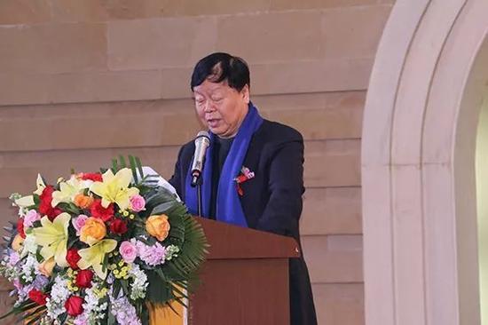 陕西省美术家协会主席、陕西中国画学会会长王西京致辞