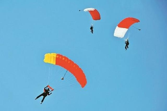 第18届亚洲跳伞锦标赛文水小伙郭晓东两夺冠