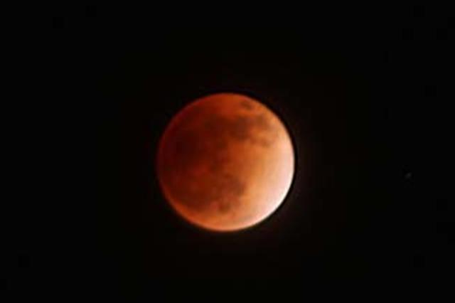 月全食31日晚现身天宇 太原市民可肉眼观赏