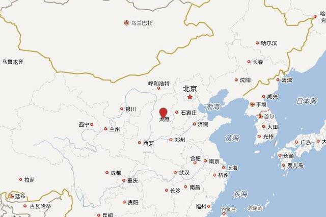 2月7日10时15分太原市清徐县发生3.4级地震