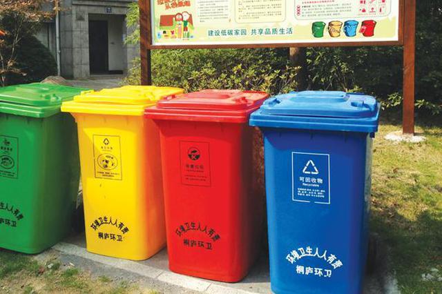 垃圾分类见效 太原市日产生活垃圾同比减少千余吨