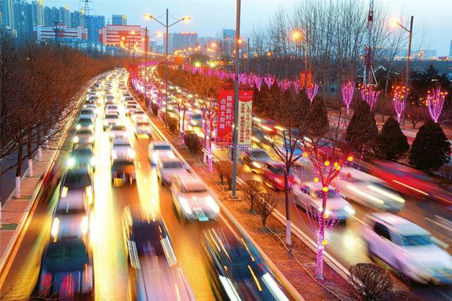 """太原:112.6万件灯饰点""""靓""""全城"""
