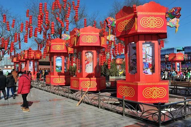 年味浓看点多范围广 2018春节太原庙会亮点抢先看