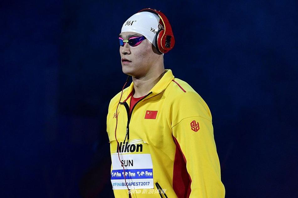 世锦赛孙杨400米自由泳连冠