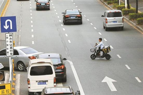 深圳交警全国率先试点