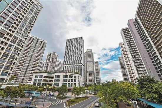 这是日前在龙华区拍摄的保障性住房项目龙悦居。图片来源:深圳特区报