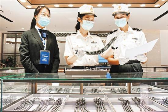 深圳进口珠宝玉石可先交易再完税