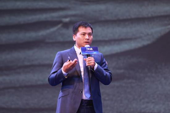 ▲创想三维联合创始人、总经理陈春