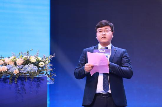 ▲创想三维联合创始人刘辉林