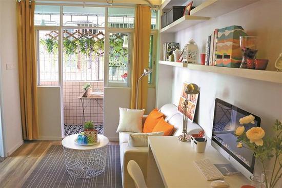 3 水围柠盟人才公寓整洁舒适。 受访者供图