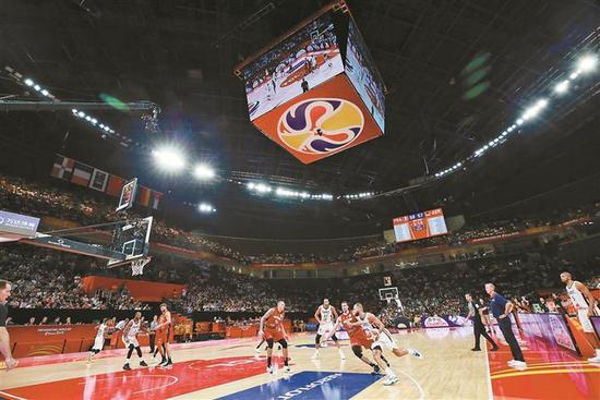篮球世界杯深圳赛区开赛深圳展现世界顶尖篮球魅力