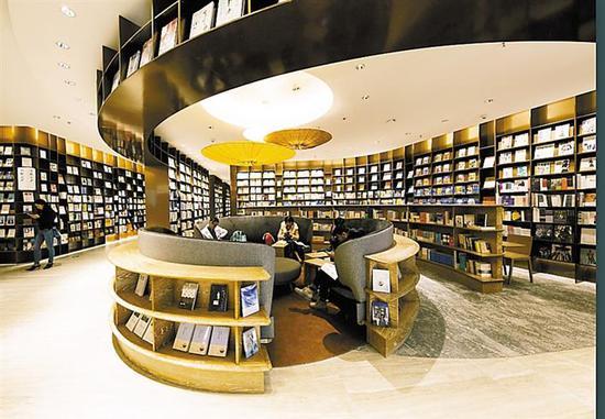 前檐书店。