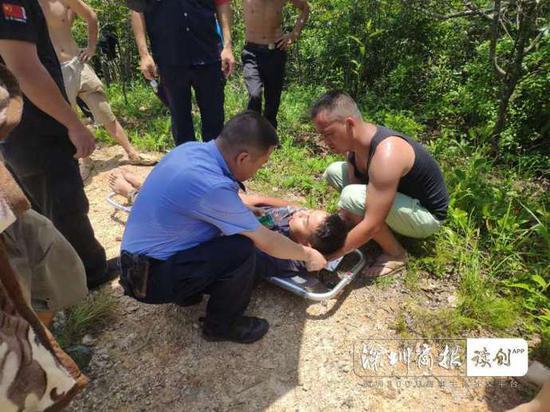 警惕!深圳7名驴友登山惊动马蜂 一人被蛰昏