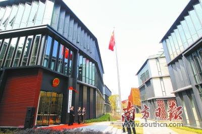 深圳前海合作区人民法院。南方日报记者 鲁力 摄