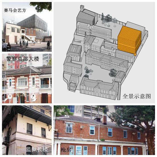 """香港""""大馆""""建筑图。(图片来源:香港""""大馆""""官网)"""