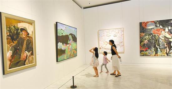 ▲暑假即将开启,各类艺术展览相继登陆深圳各大美术馆