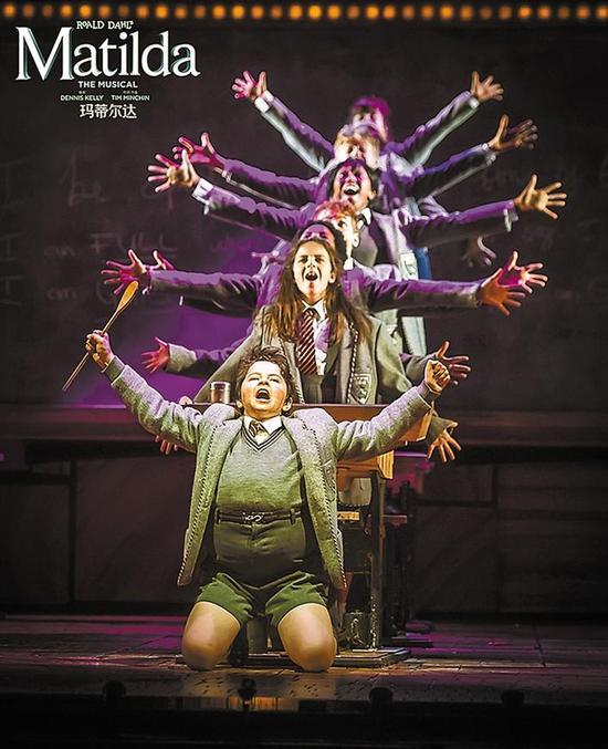 伦敦西区原版音乐剧《玛蒂尔达》深圳站将在深圳保利剧院上演