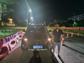 ▲刘某被警方抓获