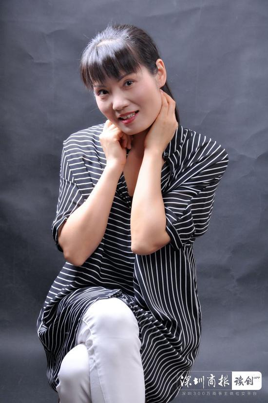 中学高级教师熊芳芳。