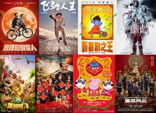 2019年春节档电影海报
