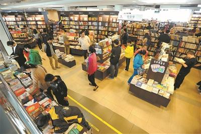 """""""书博会""""时隔22年再次光临深圳。"""