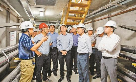 ▶香港发展局参访前海。