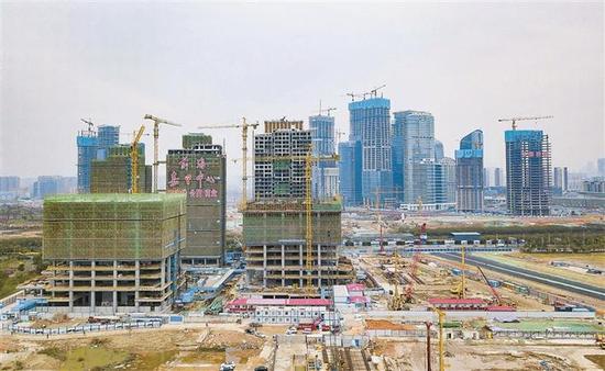 ▲嘉里前海建设项目目前进展情况良好。