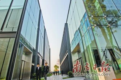 腾讯、光启研究院等十家企业签约入驻深圳前海公馆,图为前海企业公馆。南方日报记者 鲁力 摄