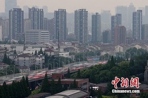 资料图:南京河西一处楼盘。中新社记者 泱波 摄
