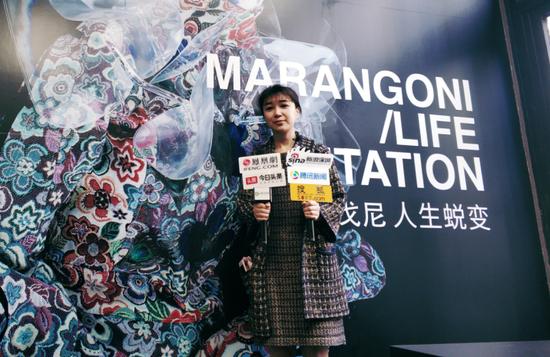 """马兰戈尼深圳校区""""年度学生设计师""""金琳接受采访"""