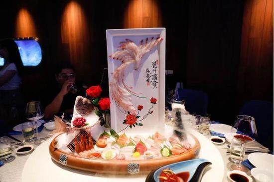 深圳海洋文化餐厅海游荟周年庆典落幕 深海鱼雕创新风