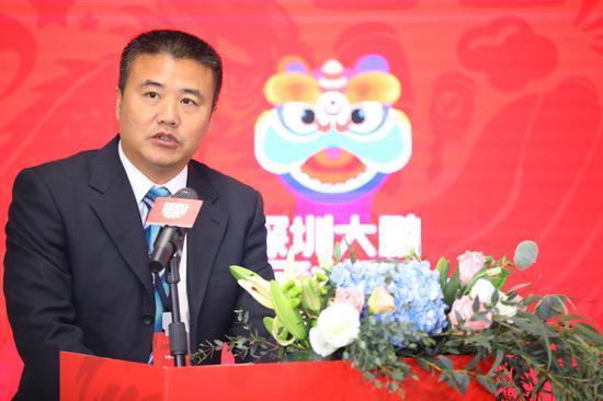 大亚湾核电运营管理有限责任公司综合管理部副经理邓宏标致辞