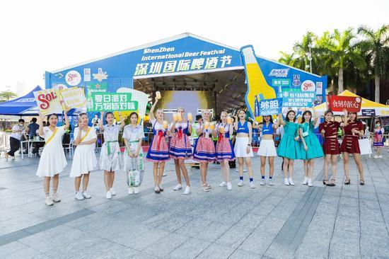 深圳国际啤酒节在欢乐海岸狂欢燃炸 下一场将在龙华iCO举行 你准备好了吗