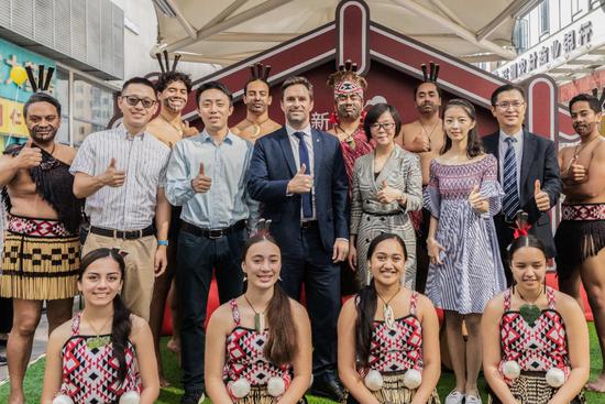 新西兰周活动在深举办  百果园用水果连接中新两国友谊