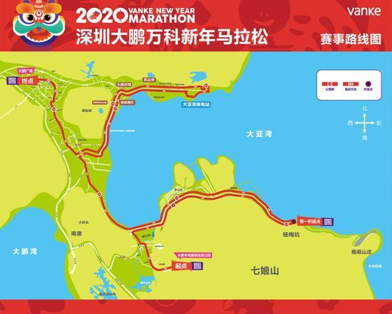 """""""2020鹏马""""赛事路线图"""