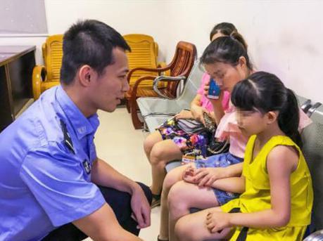 6岁女童被陌生人带走 次日在天桥找到