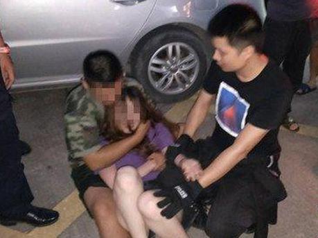 深圳女子凌晨两点跳楼轻生 民警苦劝三小时强行救援
