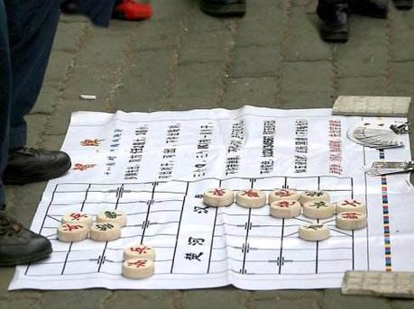 街头摆象棋残局骗局 团伙诈骗近两万元