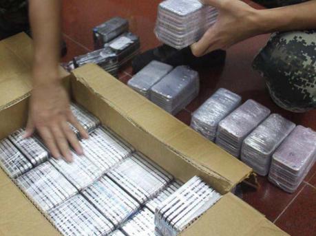 深圳海警查获多宗走私案 查获冻品280余吨及一批电子产品