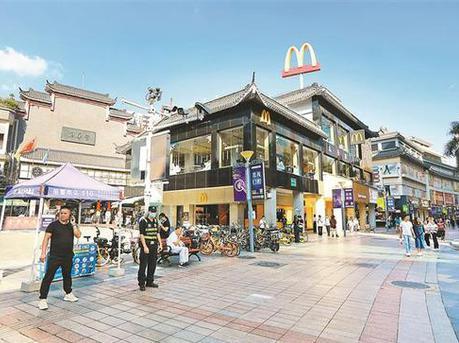 东门步行街将打造成商旅文融合国际时尚街区